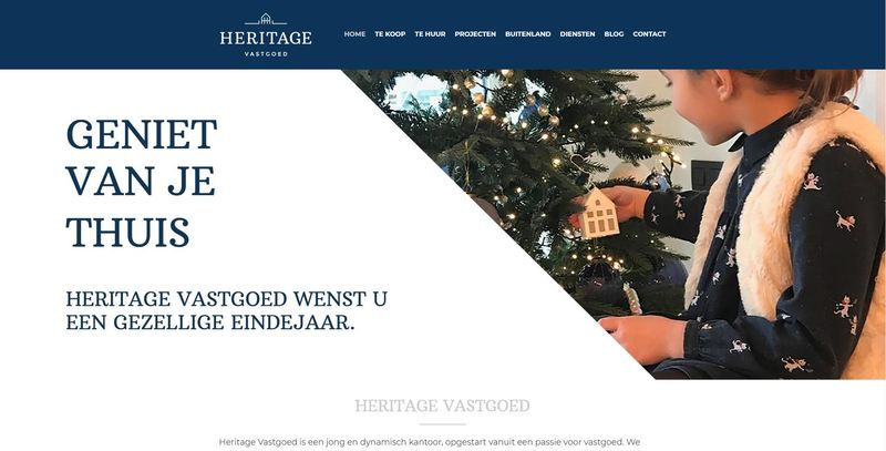Heritage website